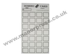 DOMINO CARDS - 1 PACKET